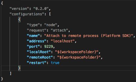 """""""Launch Configuration Screenshot"""""""
